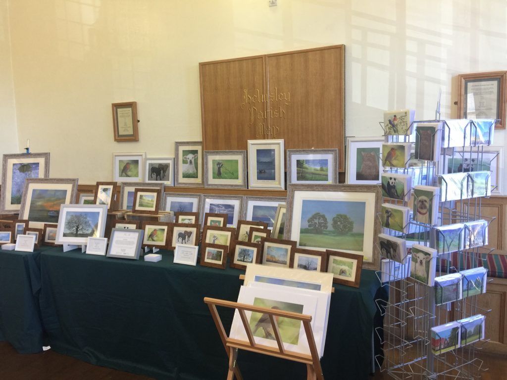 keithhillsdenart - Exhibiting my works at Helmsley Town Hall